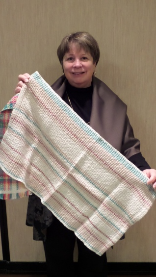 SueZ - Waffle weave kitchen towel