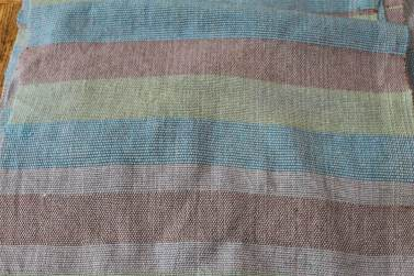 Plain weave sample