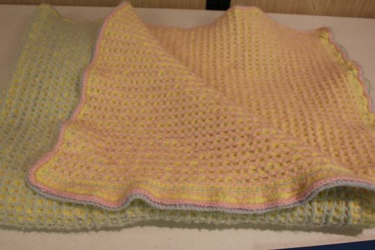Mary R - baby blanket from 1979 Joliet Weavers Guild