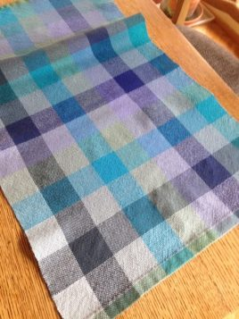 Gay A - Towel woven in plain weave with 8/1 cotton, sett at 18 epi.