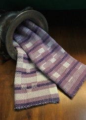 Chris M - Summer and wWinter towels woven in 8/2 and 4/2 cotton on 6 shafts, sett at 18 epi.
